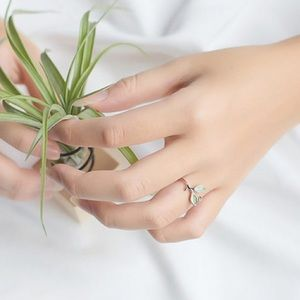 Sterling Silver Plant Lover Ring